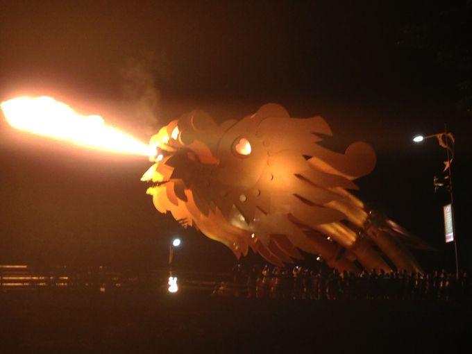 9.名物ドラゴンブリッジのショー+ソンチャー半島からの夕日ツアー