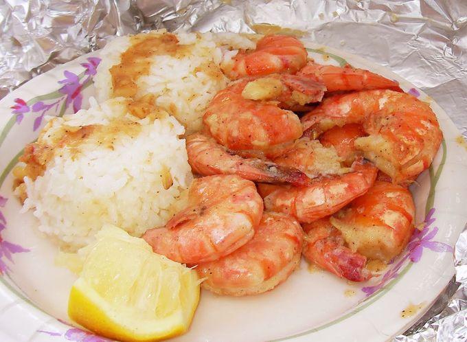 王道「シュリンプ・スキャンピ(Shrimp Scampi)」はハズせない!