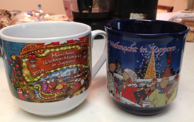 クリスマス市限定の毎年揃えたい「イヤーマグカップ」