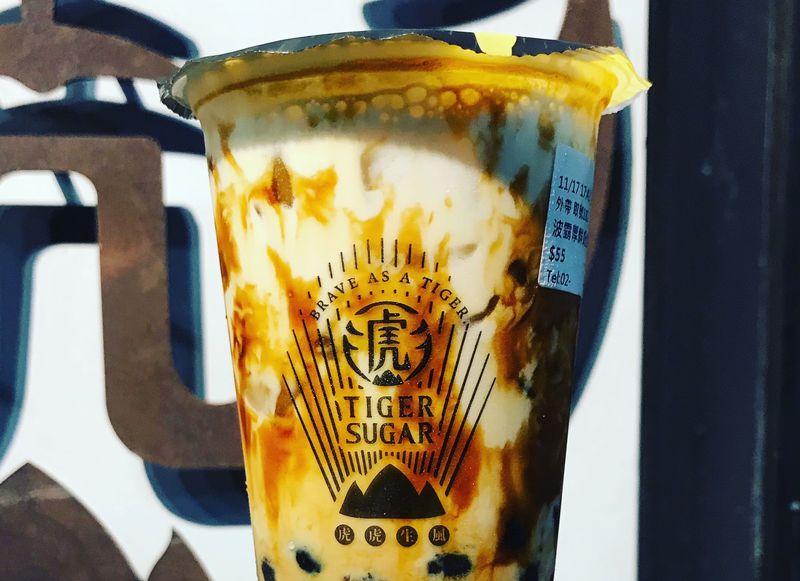 台北っ子も大好き!虎になる黒糖タピオカミルク「タイガーシュガー」