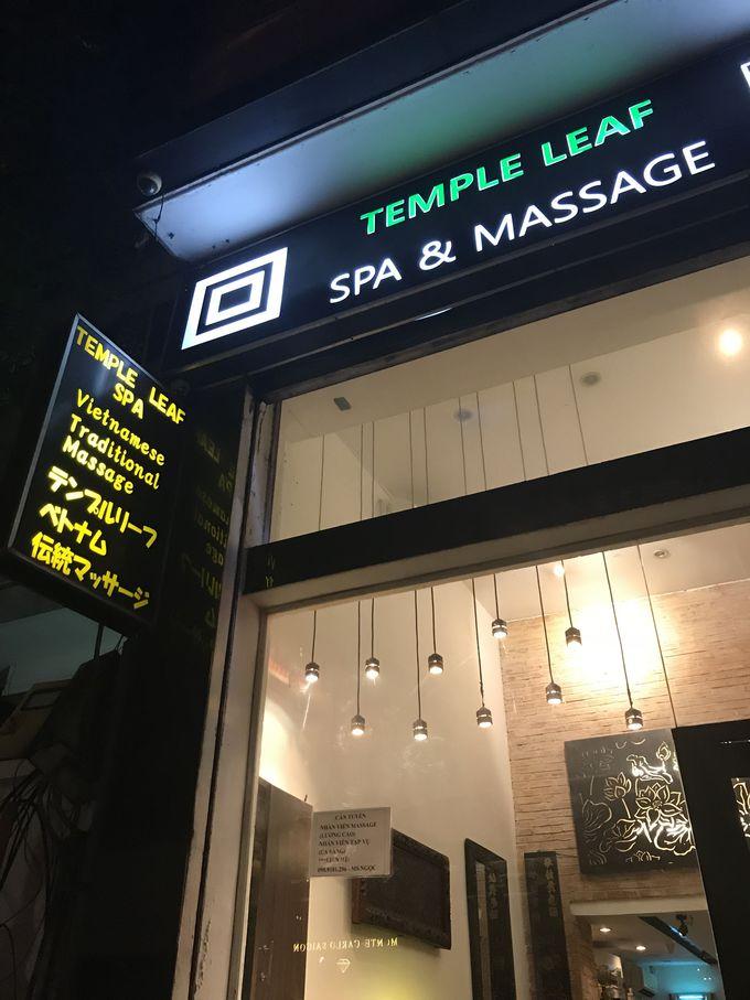 お手頃価格で充実内容の「テンプルリーフスパ」(TempleLeafSpa)