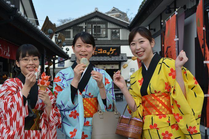 1日目午後:レトロな世界遺産観光後は「城彩苑」でスマートに熊本土産をゲット!