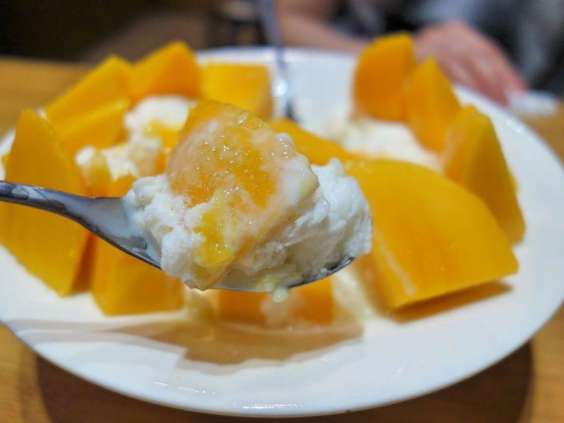 マンゴーかき氷のニューウェーブ「GomanMango」