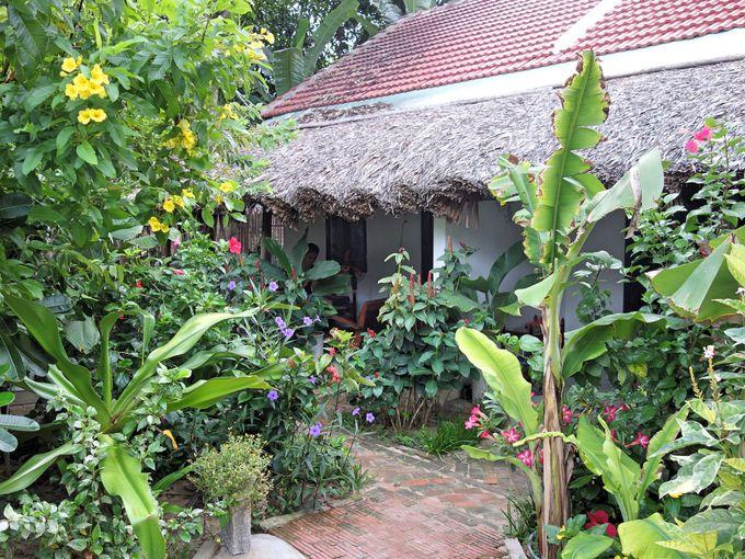 静かなアンバン村に佇む1泊4000円のホームステイ