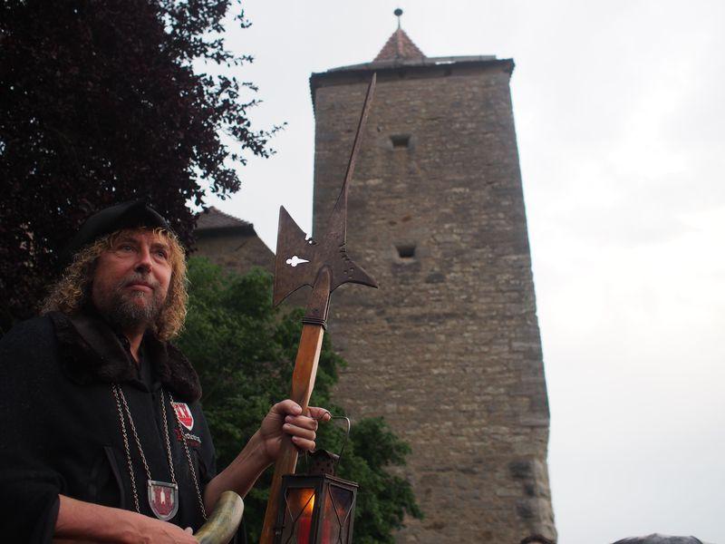 中世の街!ドイツ・ローテンブルクで夜警ツアーに参加しよう