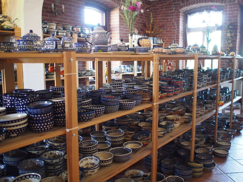 オススメポーランド陶器直営店1)Ceramika Henry's Pottery
