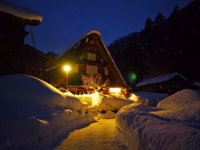 夜の風景は、宿泊客のみの特権