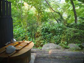 福島・岳温泉「空の庭プチホテル」でお風呂と森林浴を堪能
