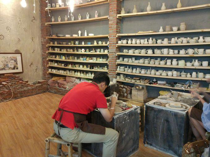 陶芸体験をしてみよう