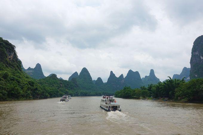 1.水墨画の世界を堪能しよう。桂林から陽朔までの漓江下り
