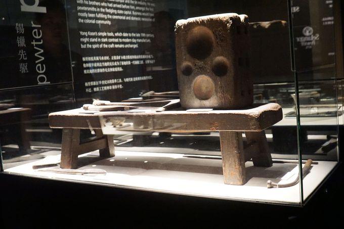 ギネス記録である世界最大の錫製品のジョッキがお出迎え