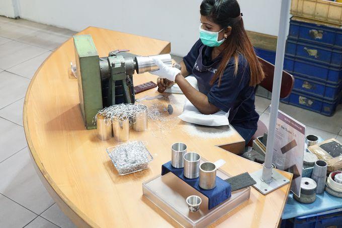 製造過程は、洗練された技術の結晶