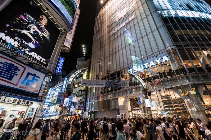 7.渋谷センター街(バスケットボールストリート)