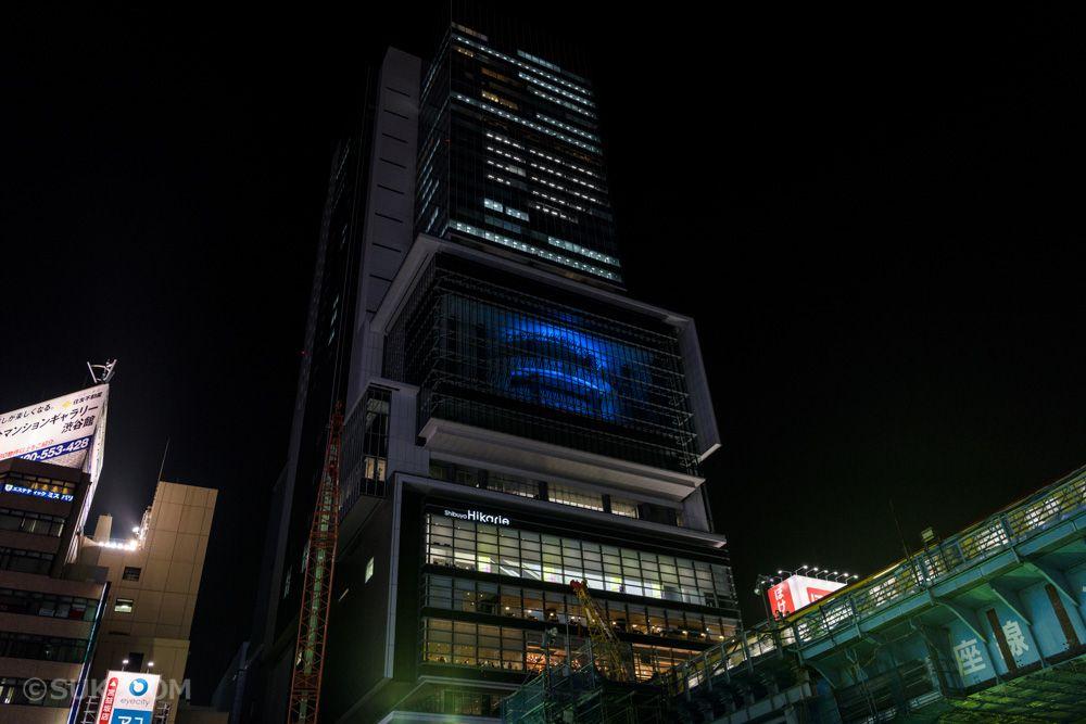 新たな名所、渋谷駅直結のヒカリエ