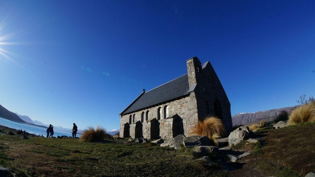 「善き羊飼いの教会」から見える絶景を目に焼き付けて