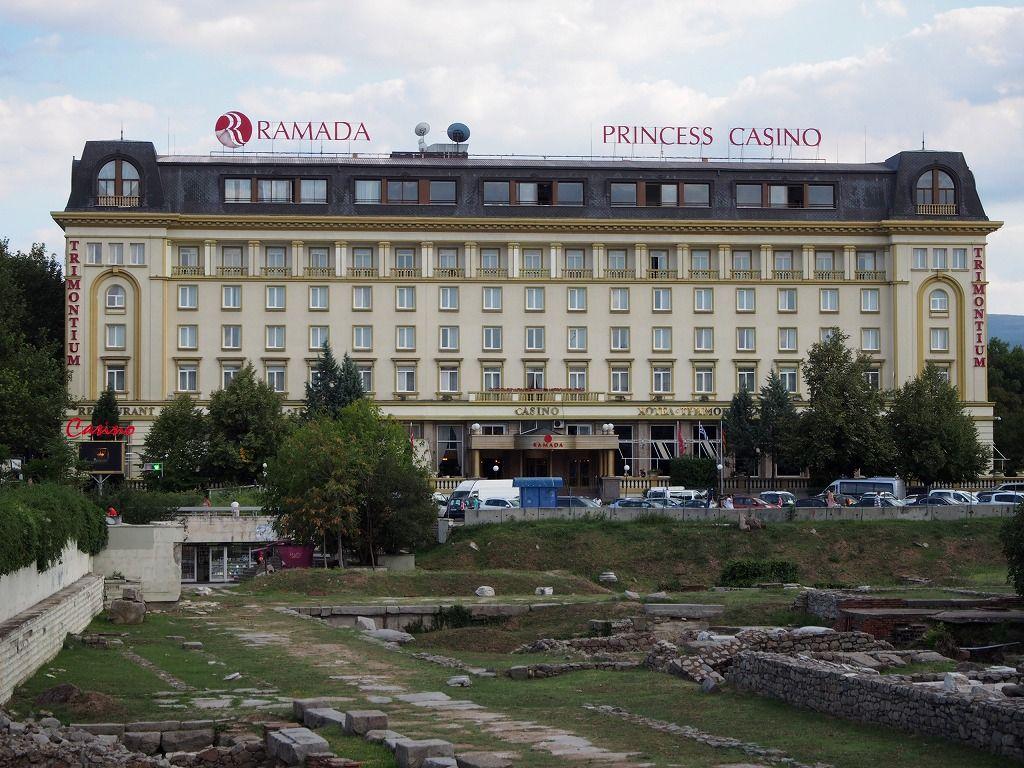 立地最高!目の前には広大な遺跡が広がるホテル