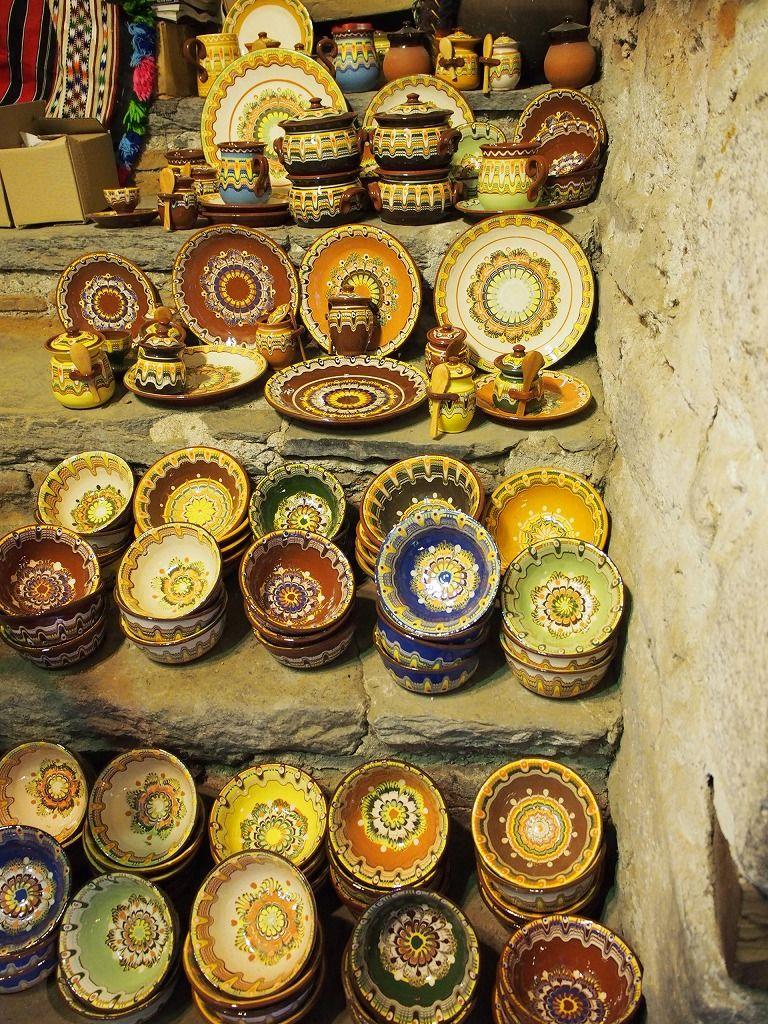 ブルガリアの伝統工芸「トロヤン陶器」