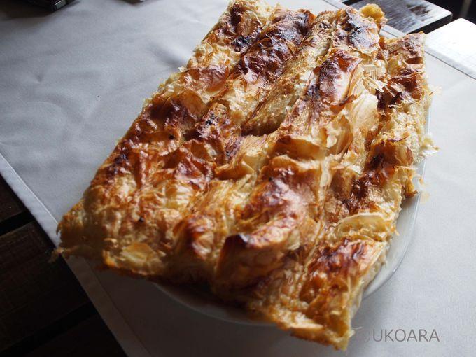 朝ごはんの定番「バニツァ」
