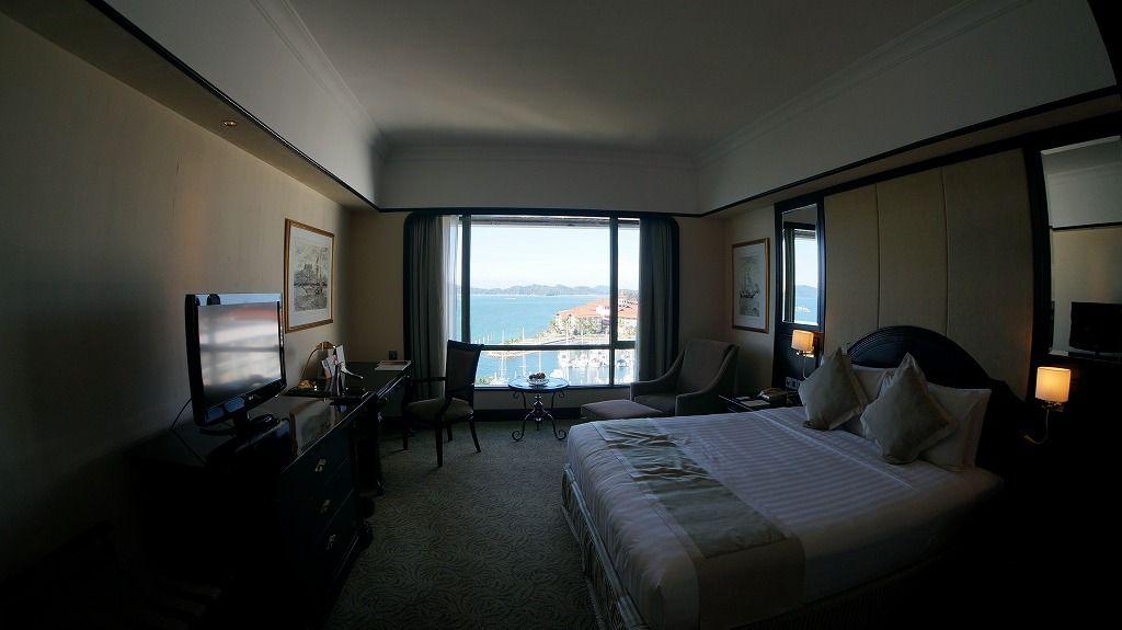 窓の外は南シナ海「ザ パシフィック ステラホテル」