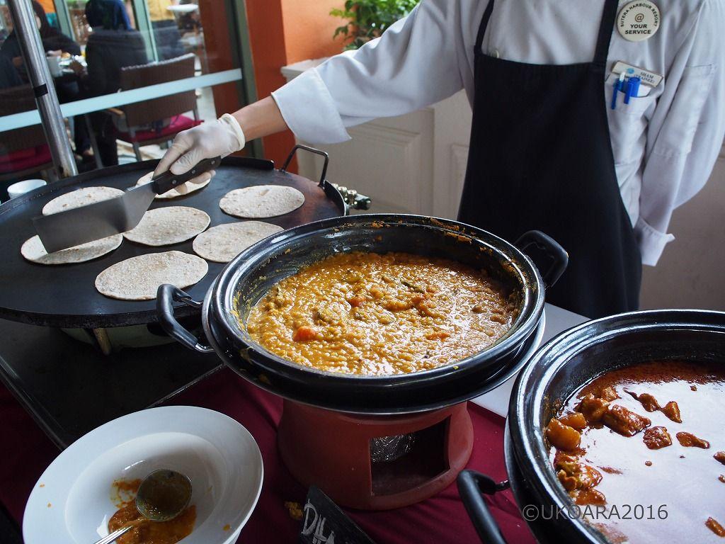 マレー料理を楽しめる朝食ブッフェ