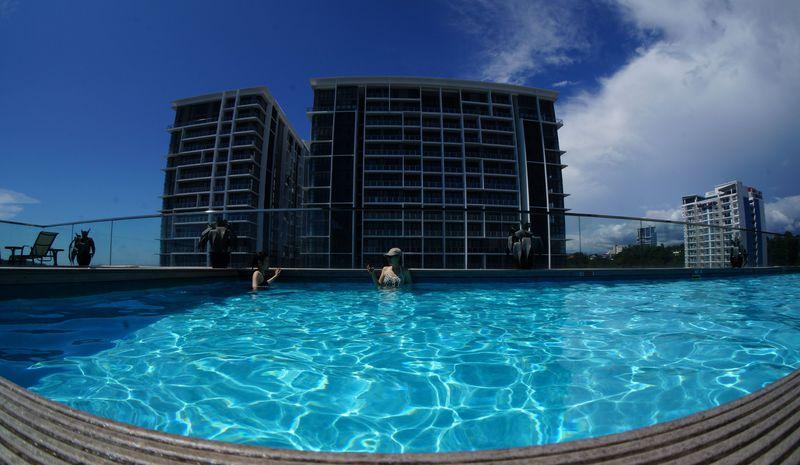 コタキナバル初心者におすすめ◎好立地「ホテルグランディス」