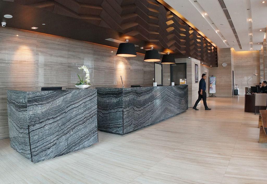 コタキナバル中心地の最新ホテル「グランディス」