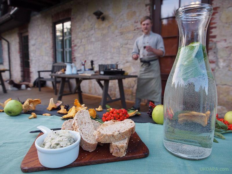 ラトビアの旬を楽しむディナー