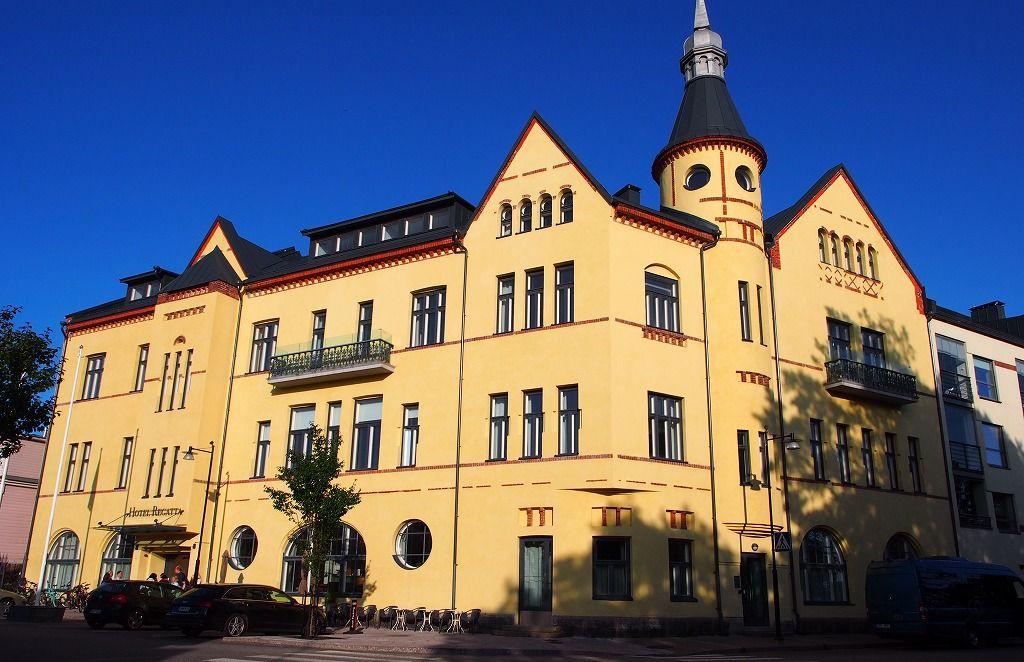 フィンランドの熱海!?スパシティ・ハンコの「ホテルレガッタ」