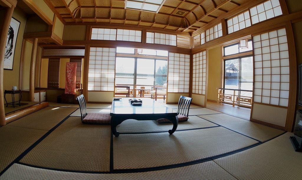 大沢館の客室