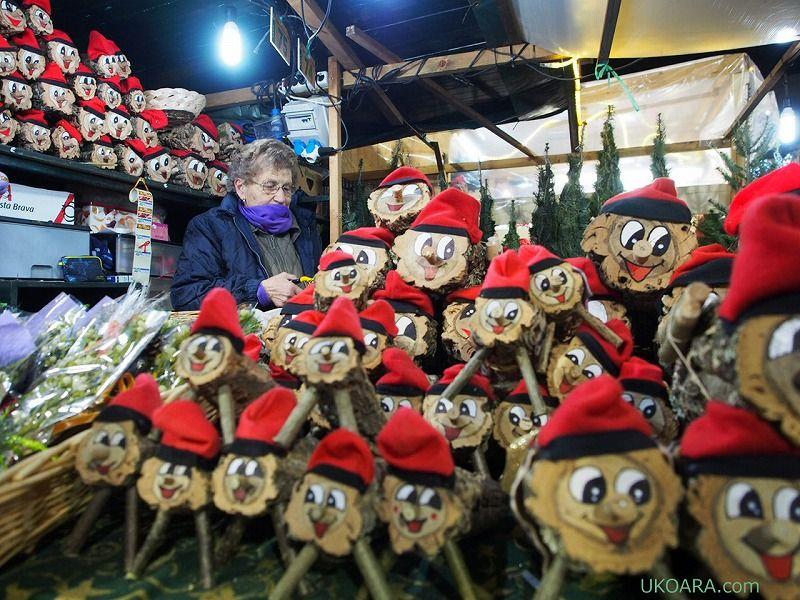 サンタさんはウ●チおじさん!?カガティオだらけ!バルセロナのクリスマス