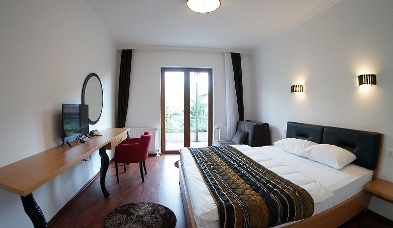 「ホテルシャーリ」のモダンな客室