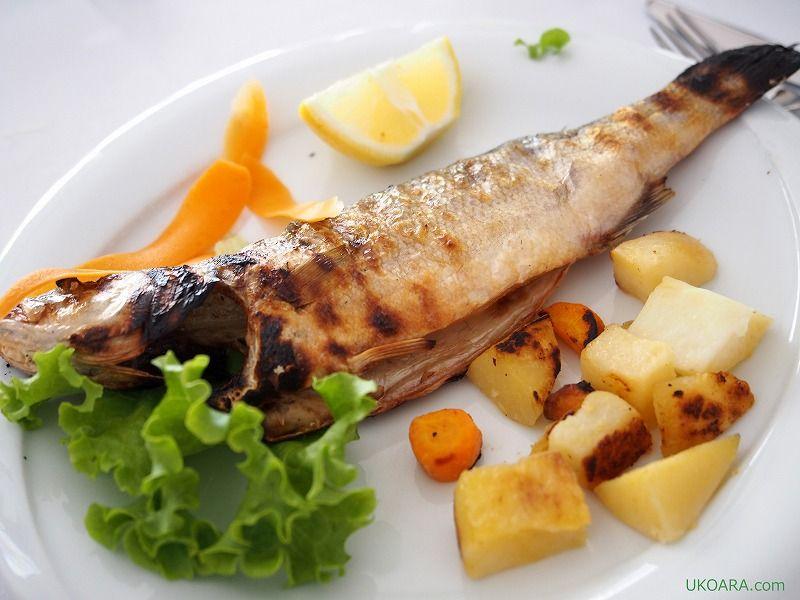メイン「ラム/魚介類」