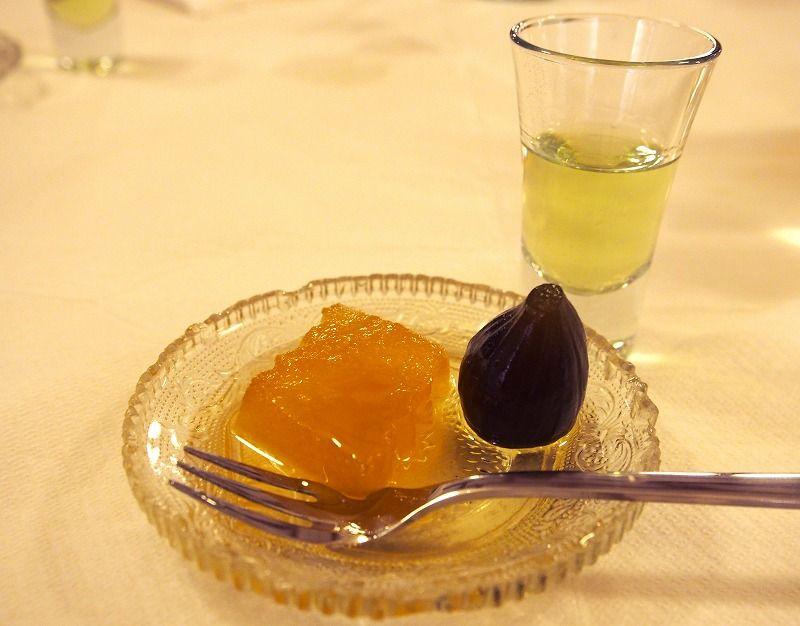 スイーツ「レモンシャーベット/リコ/トラディショナルケーキ」