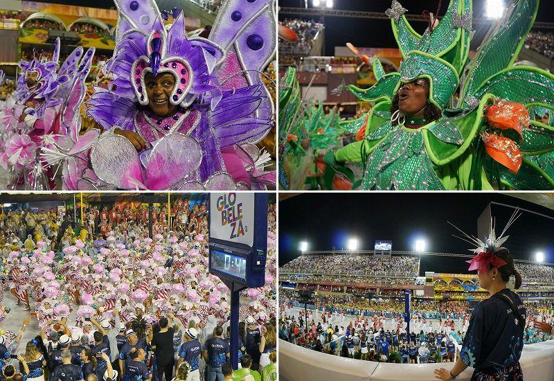 リオのカーニバルの楽しみ方