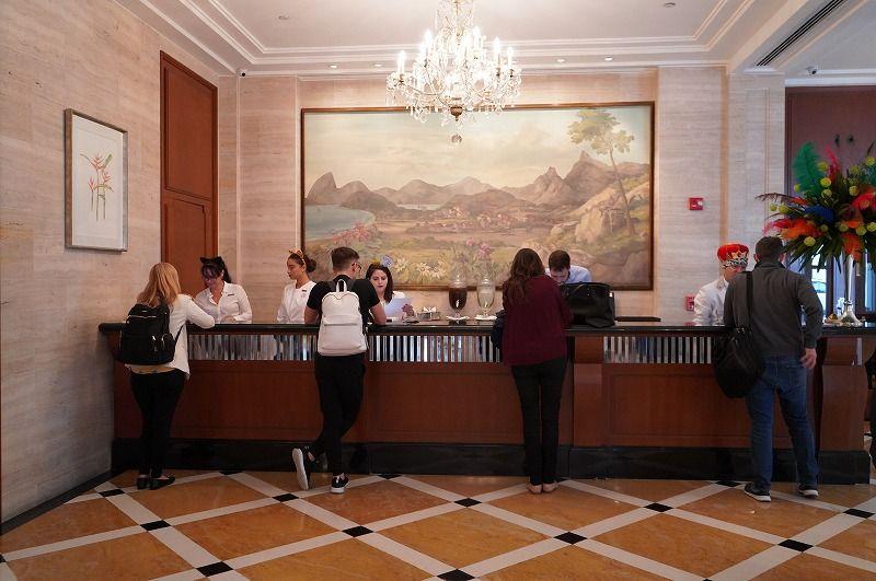 リオデジャネイロを代表する5つ星ホテル「コパカバーナパレス」