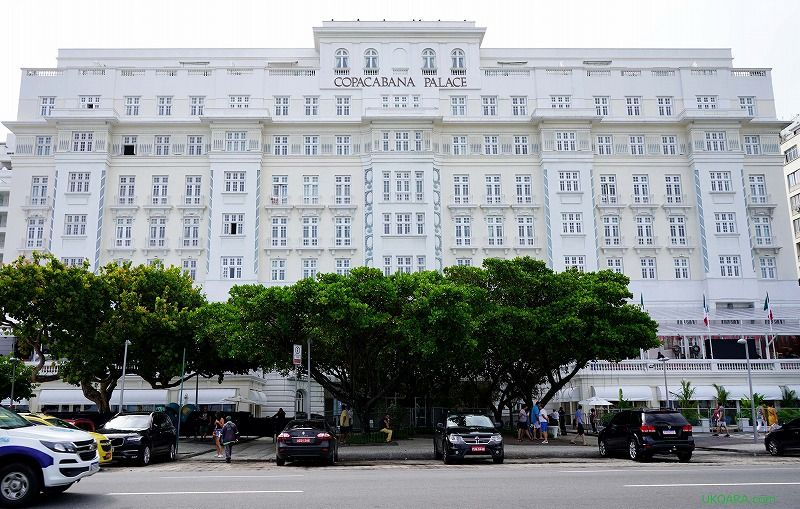 世界中のセレブが愛した、リオデジャネイロ「コパカバーナパレス」
