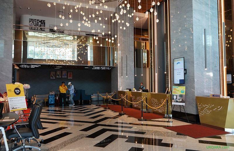 ジョホールバルのモダンなホテル「TROVE」