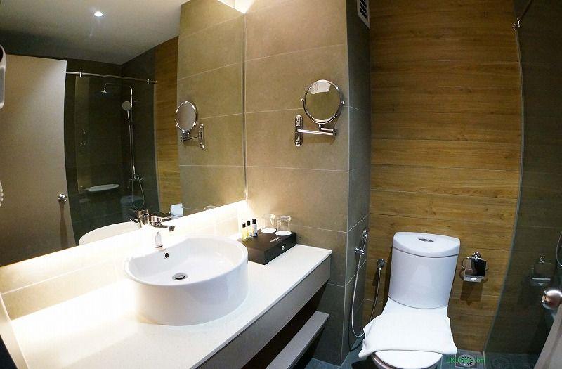 清潔感があるシャワールーム