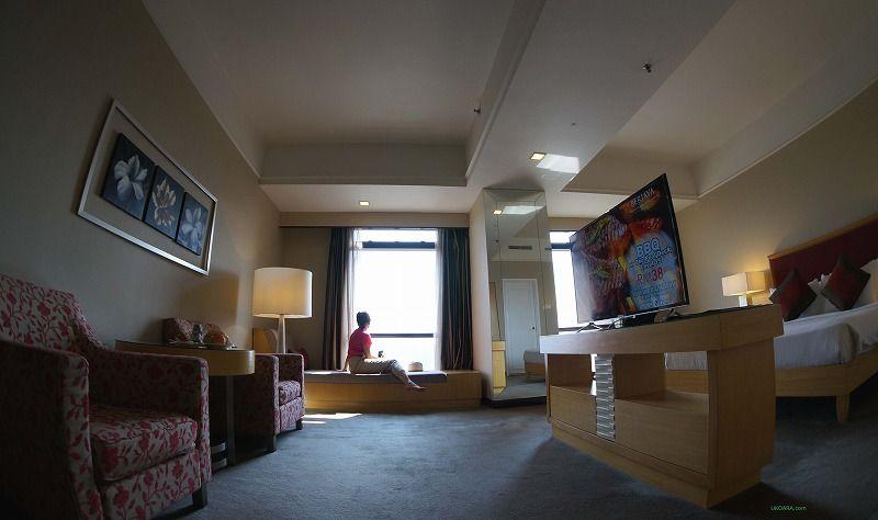 プレミアダブルの客室