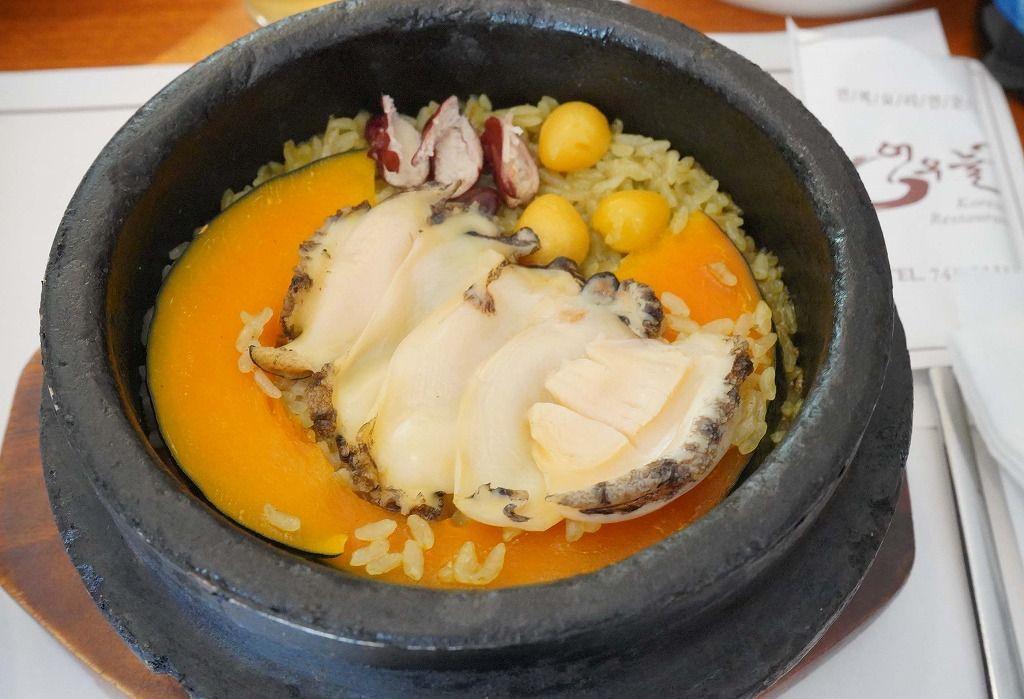 一軒家レストラン「オウヌル」で食べたい上品なアワビの釜めし