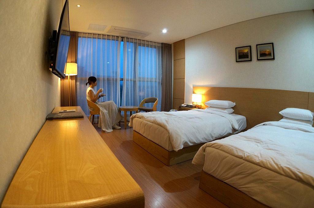 YOUUSホテルの客室