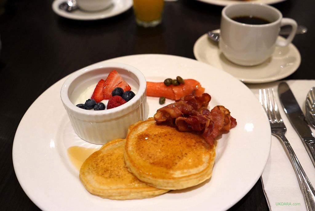 シンプルが美味しいウェスティントランブランの朝食