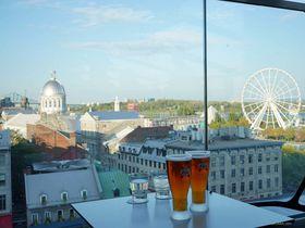 モントリオールを一望!ホテル ウィリアムグレイ&ルーフトップテラス