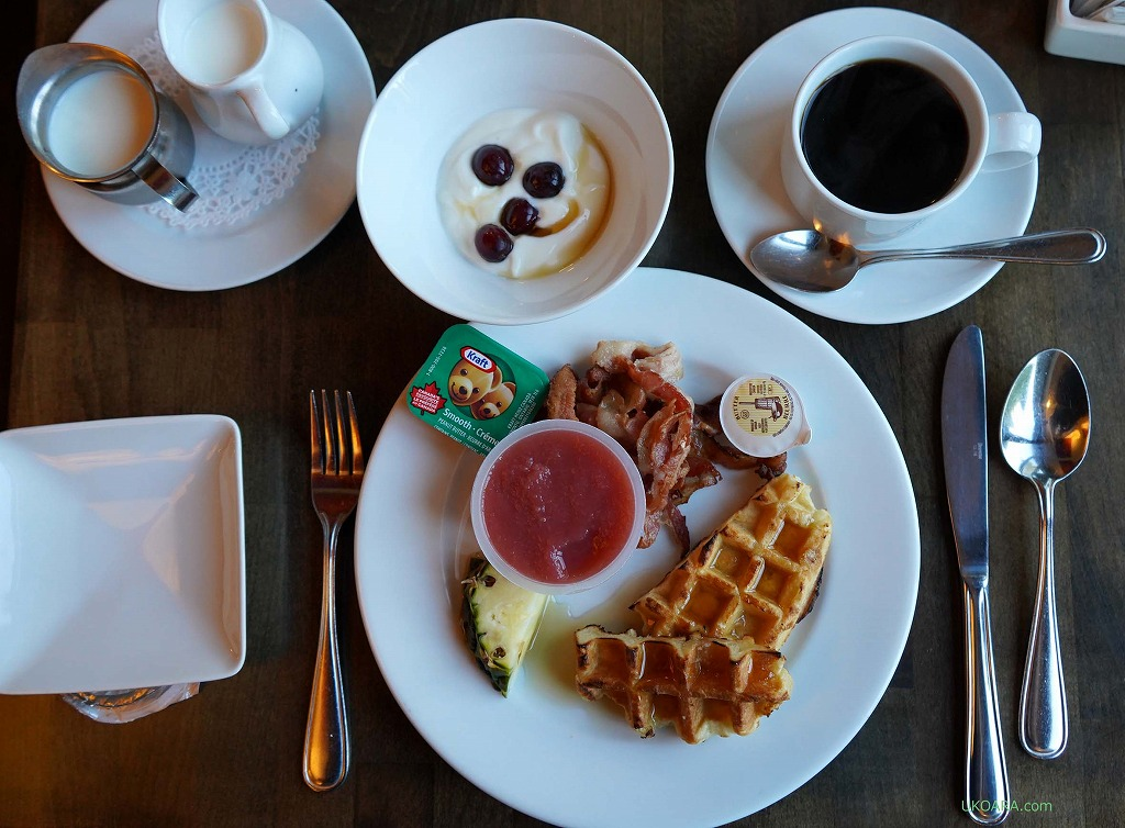 エスパス4セゾンのシンプルな朝ごはん