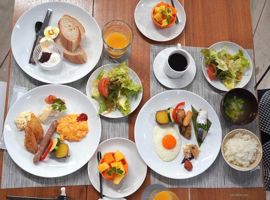 島のめぐみを味わう伝泊MIJORAの朝ごはん
