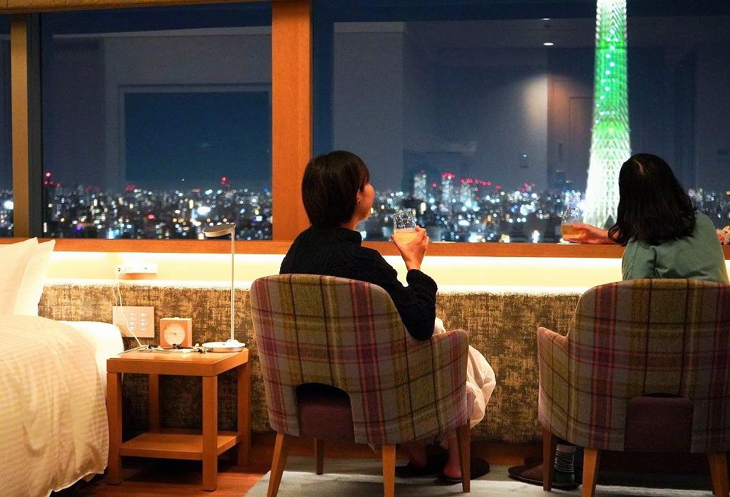 ホテルメイドの中国料理で客室は絶景レストラン