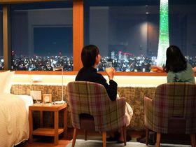 地上100mの絶景スカイツリービュー「東武ホテルレバント東京」
