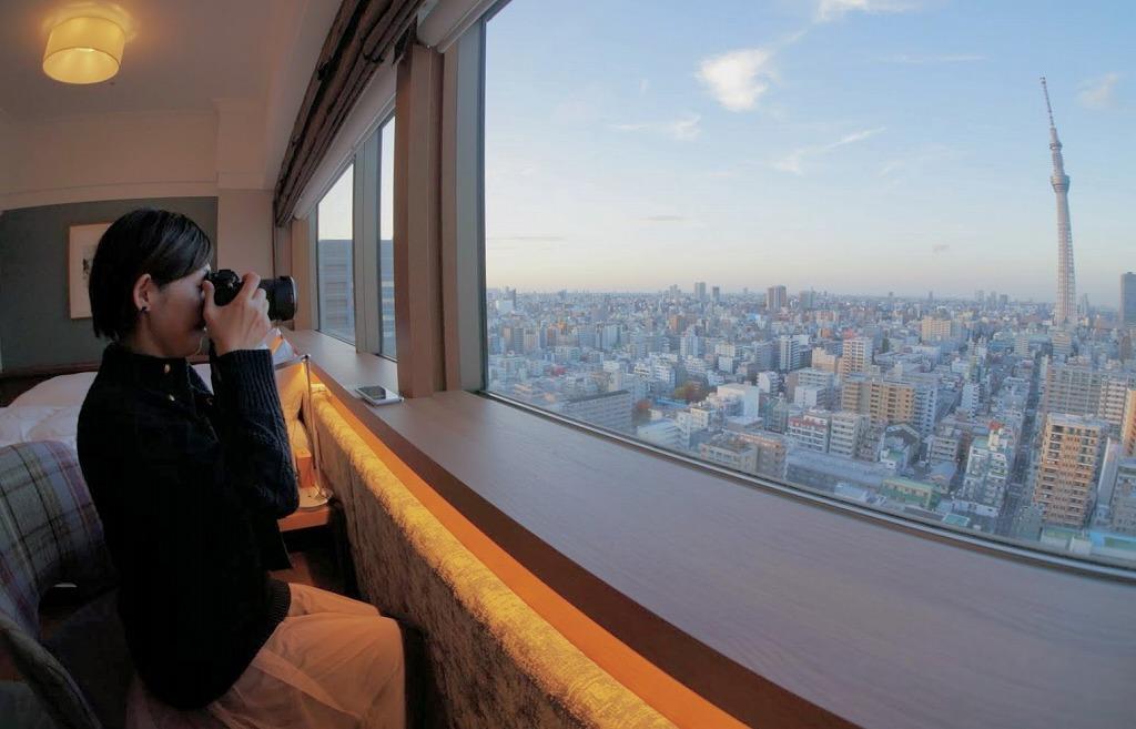 宿泊はデラックスツイン 東京スカイツリー(R)ビューに決まり