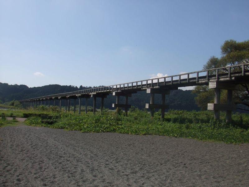 『超高速!参勤交代』『とと姉ちゃん』ロケ地!静岡・蓬莱橋はドラマに映画に大活躍