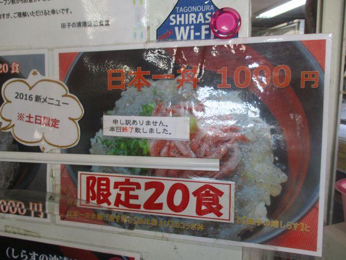 期間限定&数量限定!レアどんぶり「日本一丼」!